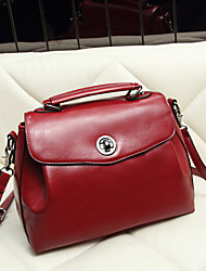 LULU Fashion Vintage Solid Color Single Shoulder Crossbody Bag