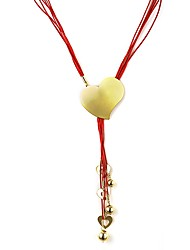 Yangxi Women's Heart Shape Necklace
