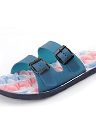 Rubber Men's Flat Heel Slide Slippers Shoes (More Colors)