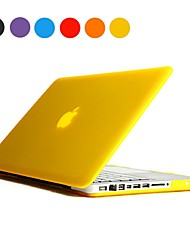 estuche rígido de la PC esmerilado color sólido para MacBook Pro 13 ""