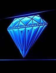 Joyería Diamond Publicidad LED muestra ligera