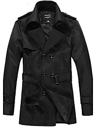 Men's South Korean Style Fashion Casual Trench Coat