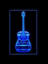 Acheter Vendre réparation Guitare Publicité LED Connexion