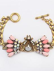 женская мода алмаз жук браслет