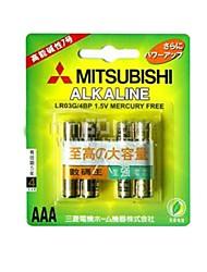MITSUBISHI LR3G AAA 1.5V piles alcalines (4pcs)