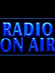 Radio Air Publicité LED Connexion