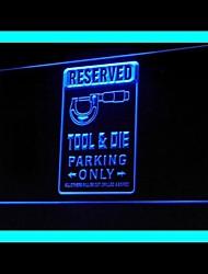 Réservé outil Die Parking Publicité LED Connexion