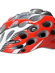 acacia® 41 Вентс EPS + PC красный целое формуют велосипедный шлем (55-62cm