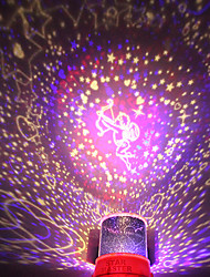 DIY Cupid Romantic Galaxy Starry Sky Projector Night Light for Celebrate Christmas Party