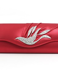 Leatherette Wedding / Special Occasion Clutches / Evening Handbags with Rhinestones (More Colors)