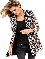 la manera del leopardo Yinbo equipado abrigo
