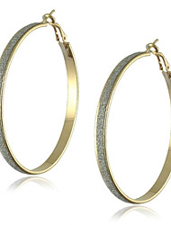 Alloy Big Hoop Fashion Earrings