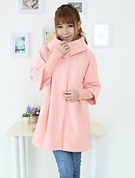 Women's Big Lapel Thicken Trench Coat