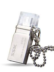 SSK 64gb pen usb flash OTG conduzir à prova d'água