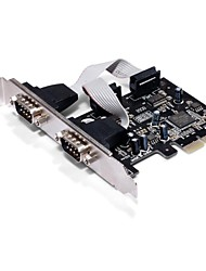 SUNWEIT PCI Express 2 portas seriais com Chipset OXford952 Add On Cartões