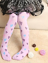 Langsha®Girls Colorful Heart stockings