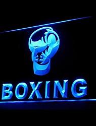 boxe soco publicidade levou sinal de luz