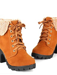 Women's  Wedge Heel Motorcycle Boots Ankle Boots (More Colors)