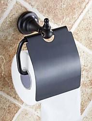 Porte Papier Toilette Bronze Huilé Fixation Murale 140 x 134 x 66mm (5.51 x5.27 x 2.59inch) Laiton Antique