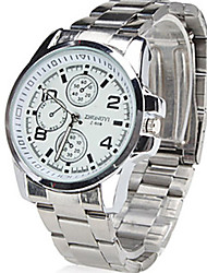 Shinuo Men's Three Paltes and Six Pointers Hot Products Steel Band Watch