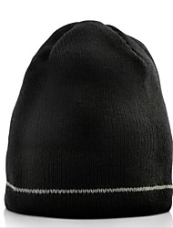 Beanie Hat with Built-in Headphones (Black)
