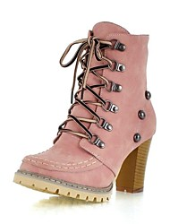 Women's Chunky Heel  Combat Boots Ankle Boots (More Colors)