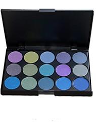 Professional 15 Color Full Ultra Shimmer Glitter Eyeshadow Palette Makeup Set