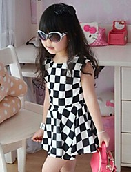 HAO MING  Girl's The New Vest Dress Sleeveless Dress