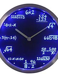 regalo nc0461 clase de la matemáticas Álgebra Fórmula Profesor de Matemáticas Neon LED reloj de pared