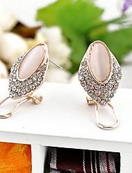 Women's Europe Vintage Unique Refinement Earrings(Pink)