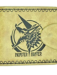 PSP Online Game Monster Hunter Zinogre Leather Wallet Cosplay Accessory