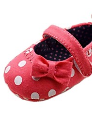 Chaussures bébé Robe/Informel Coton Ballerines Rouge
