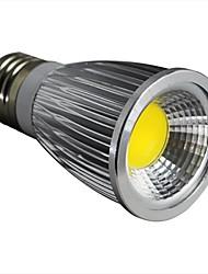 7W E26/E27 Spot LED 1 COB 600LM lm Blanc Chaud Graduable AC 100-240 V
