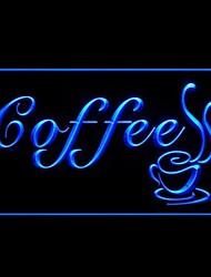 Американо Кофе Реклама светодиодные Вход