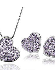 Sunny Elegant Diamante Jewelry Sets