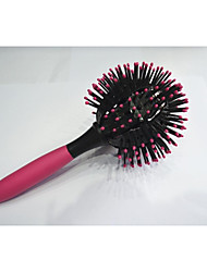 cabeleireiro pente de plástico esférica