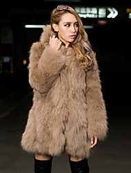 XT Hoodie Fur Coat_122 (White,Khaki)