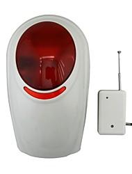 sirena senza fili impermeabile con luce stroboscopica per gsm wireless sistema di allarme auto