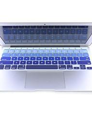 """coosbo® coloré silicone peau de couverture de clavier pour 11.6 """", 13.3"""", 15.4 """", 17"""" macbook air pro rétine"""