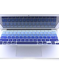 "coosbo® colorido silicone pele tampa do teclado para 11.6 "", 13.3"", 15.4 "", 17"" macbook pro ar retina"