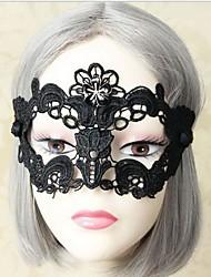 ручной пол-лица специи черного кружева цветок маску Венеция