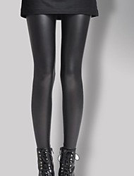 Women PU Legging , Faux Fur/Faux Leather