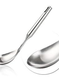 aço inoxidável cozinhas ferramentas colher de sopa, 29.5x7.8x2.2cm