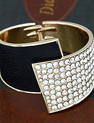 Fashion Trends Tmperament Metal Rhinestone Bracelet