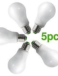 5-pack h + lux ™ cfl a60 e27 16w 900LM cri>80 2700K bianco caldo lampadina del globo (AC220-240V) = 100w incandescenza