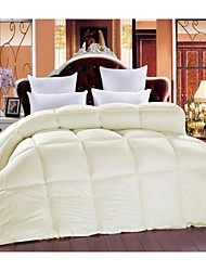 Shuian® Comforter Plume Velvet Quilt Keep Warm Thickening Yellow Color Quilts