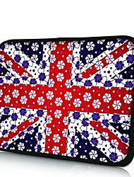 Elonno Union Flag Tablet Neoprene Protective Sleeve Case for 11'' Macbook Air Dell Acer HP