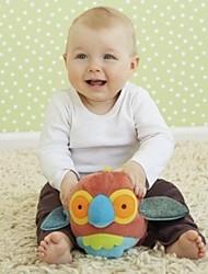 brinquedos de algodão macio bebê bola forma chocalho papagaio