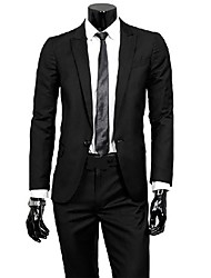 Men's Fashion Washed Slim Suit Sets