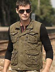 Fanchenyipin Winter Muti-porket Waistcoat Vest for Outdoor Photographer Director/Fishing [XXL]